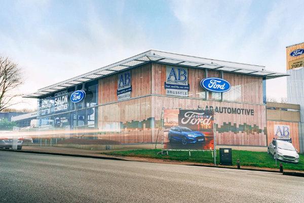 Buitenkant locatie AB Automotive