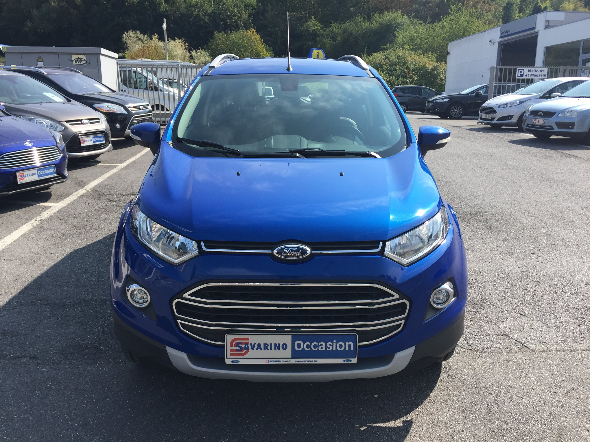 Stock vehicules neufs et occasion