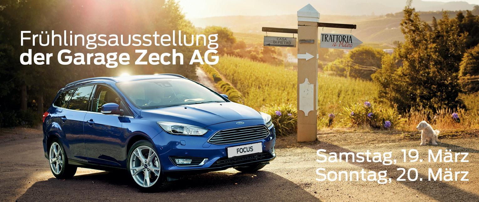 Frühlingsausstellung der Garage Zech AG