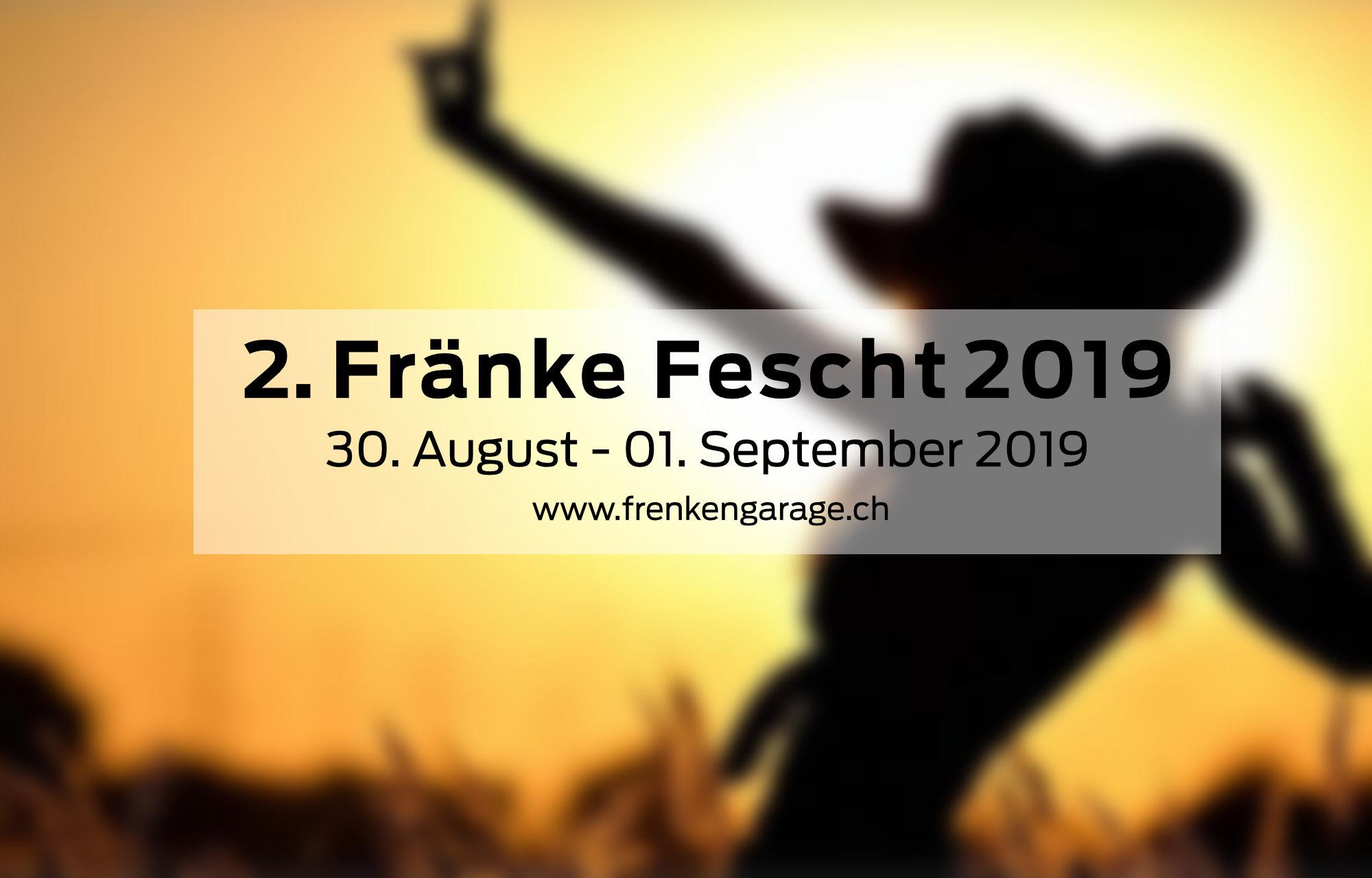 2 . Fränke-Fescht 2019