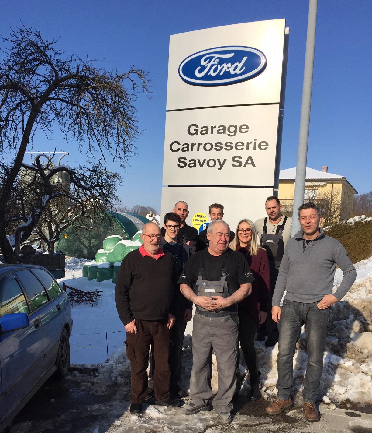 Ford Garage Savoy