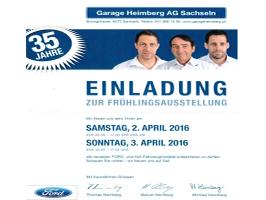 35 Jahre Garage Heimberg AG