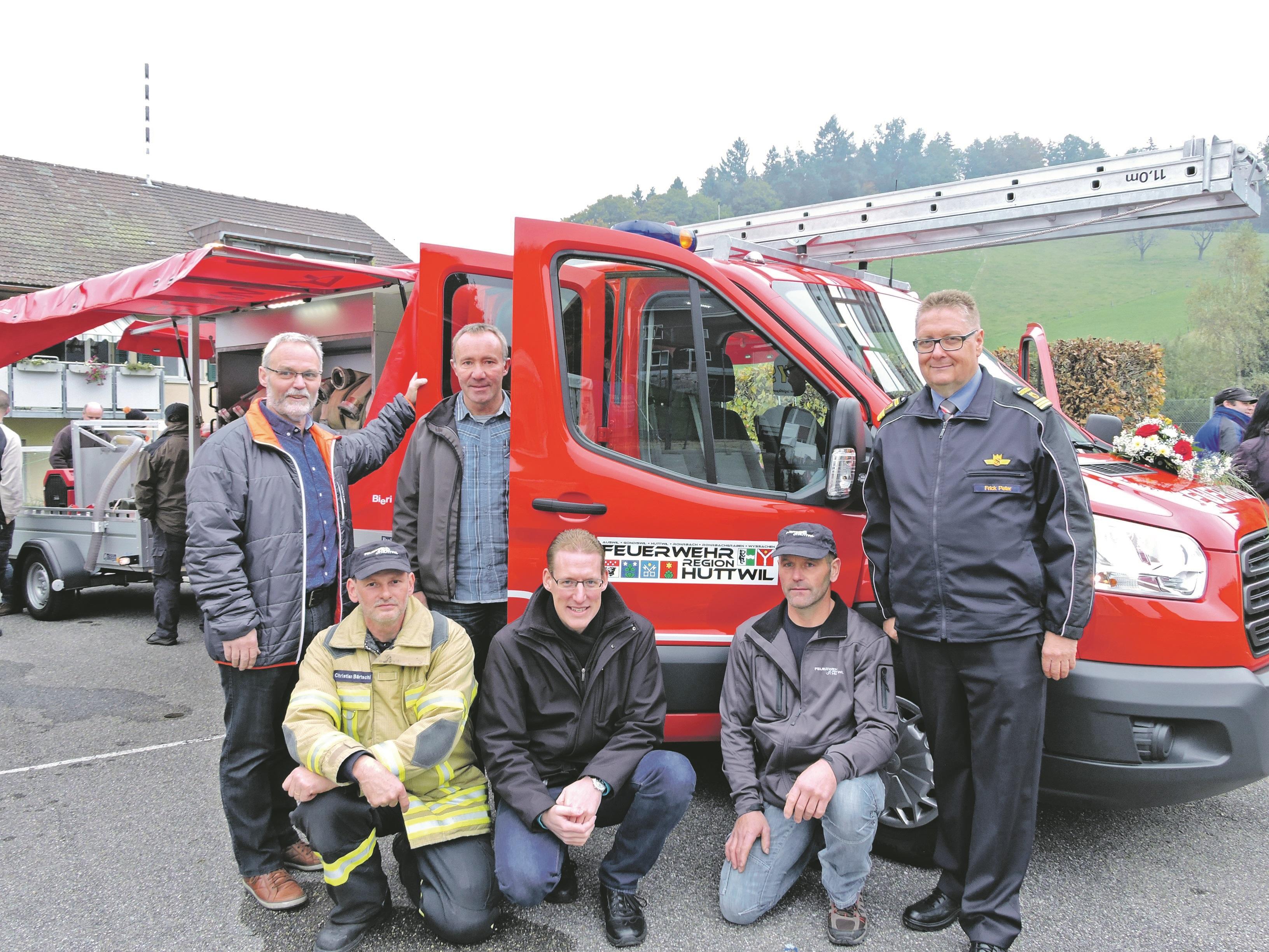 Transit 4x4 für die Feuerwehr