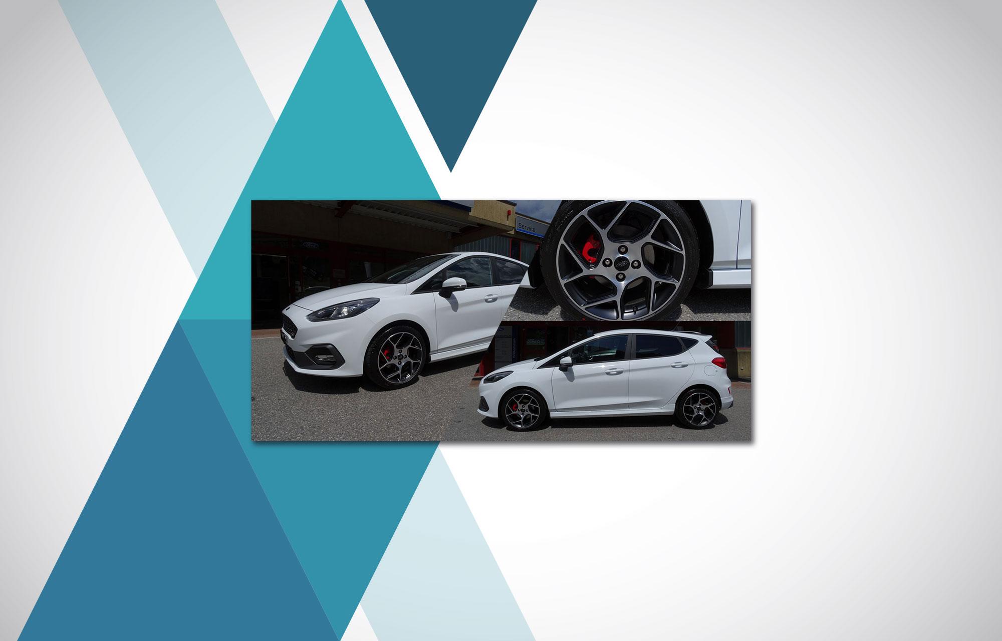 Frisch angekommen: der neue Ford Fiesta ST