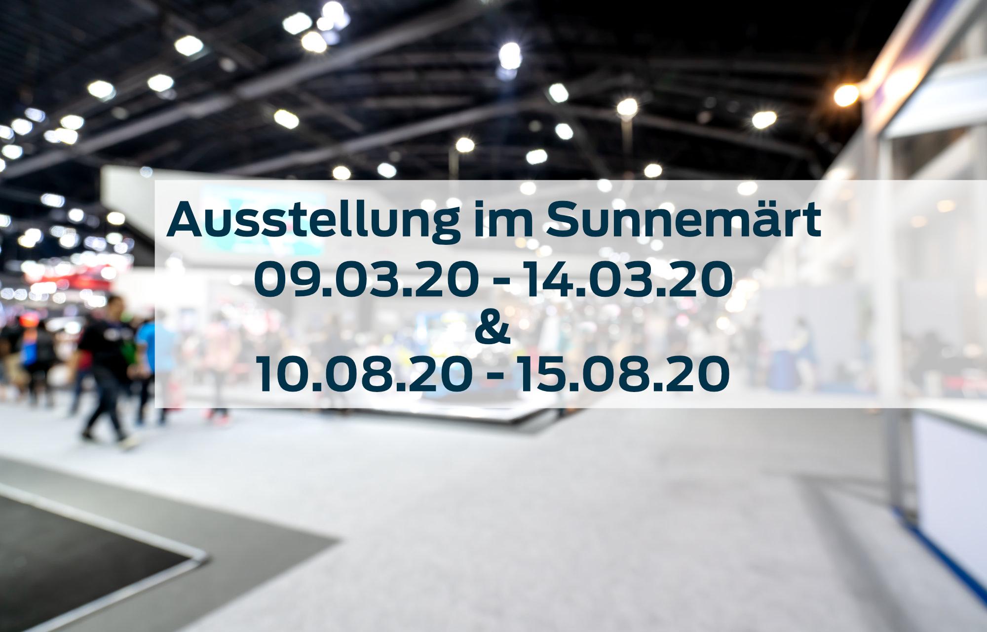 Ausstellung in der Mall vom Sunnemärt in Bremgarten