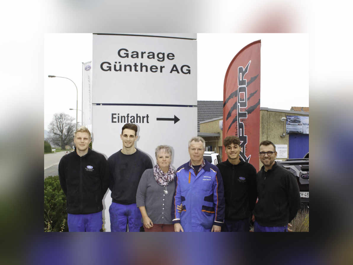 Team der Garage Günther AG