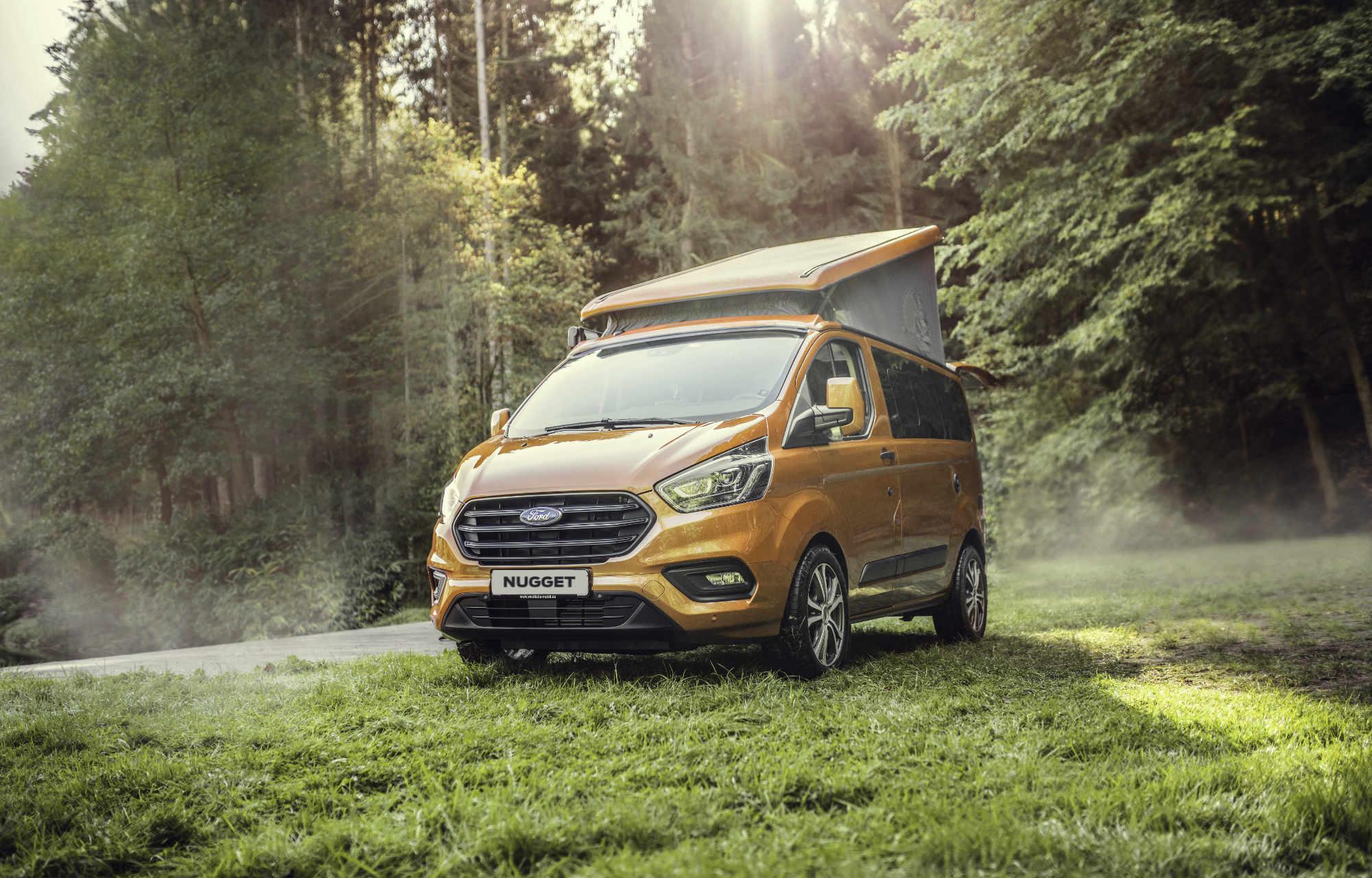 neuer Ford Transit Custom Nugget Feldgarage Bütschwil
