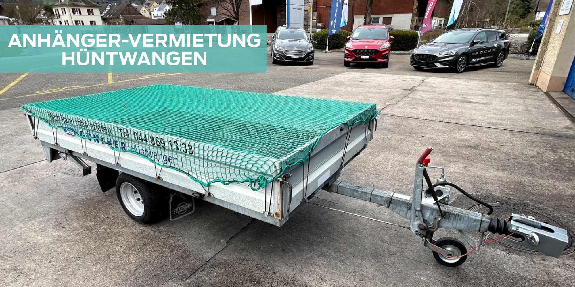 Anhängervermietung Garage Günther AG Hüntwangen