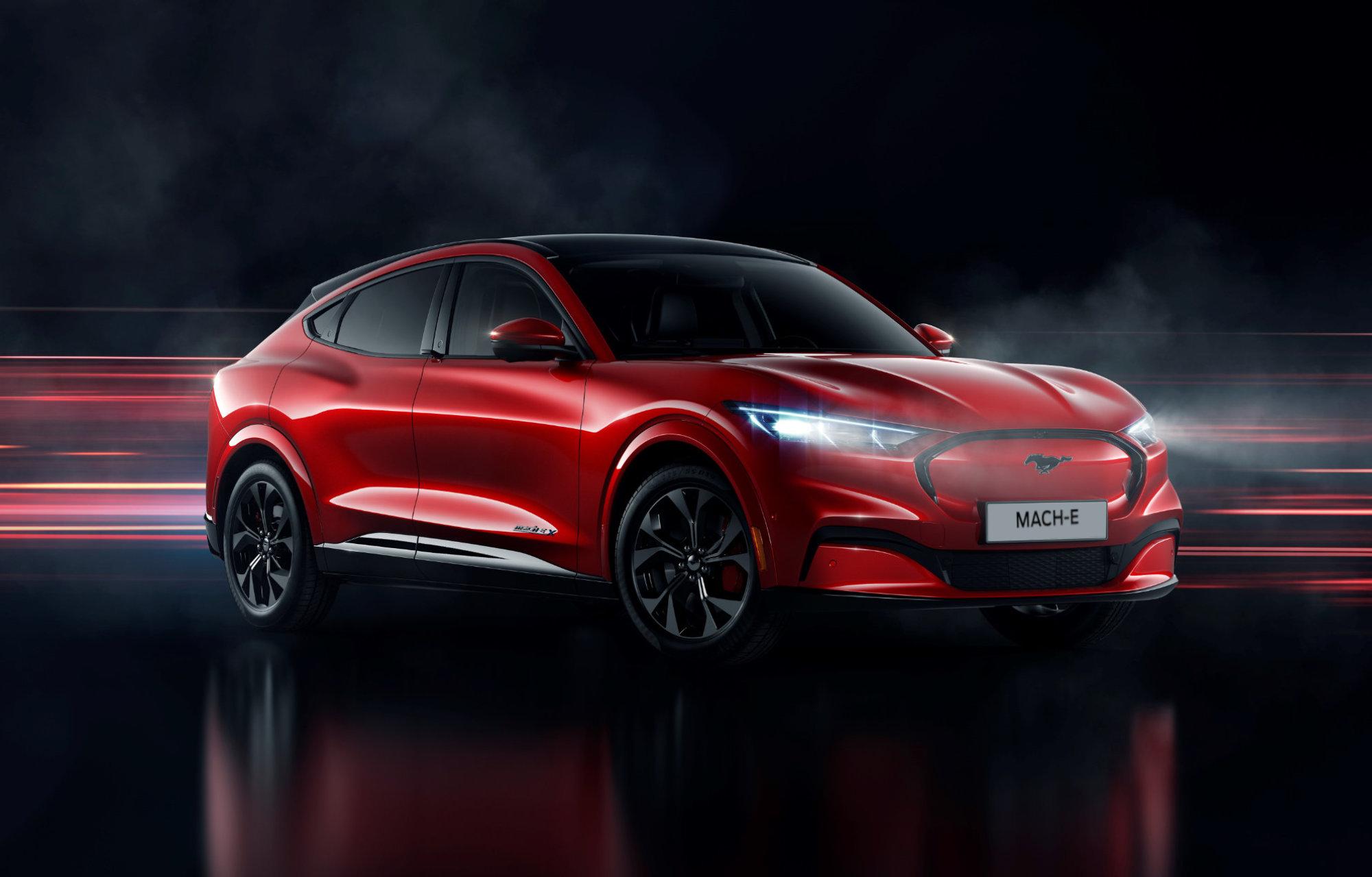 Mustang Mach-E Biel