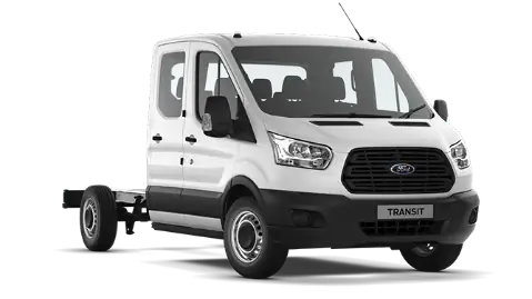 Ford Transit Chassis Cab Cabine double