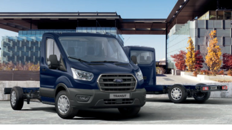 Ford Transit Chassis Cab Trend