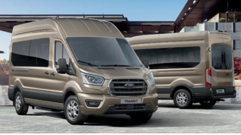 Ford Transit Minibus Limited