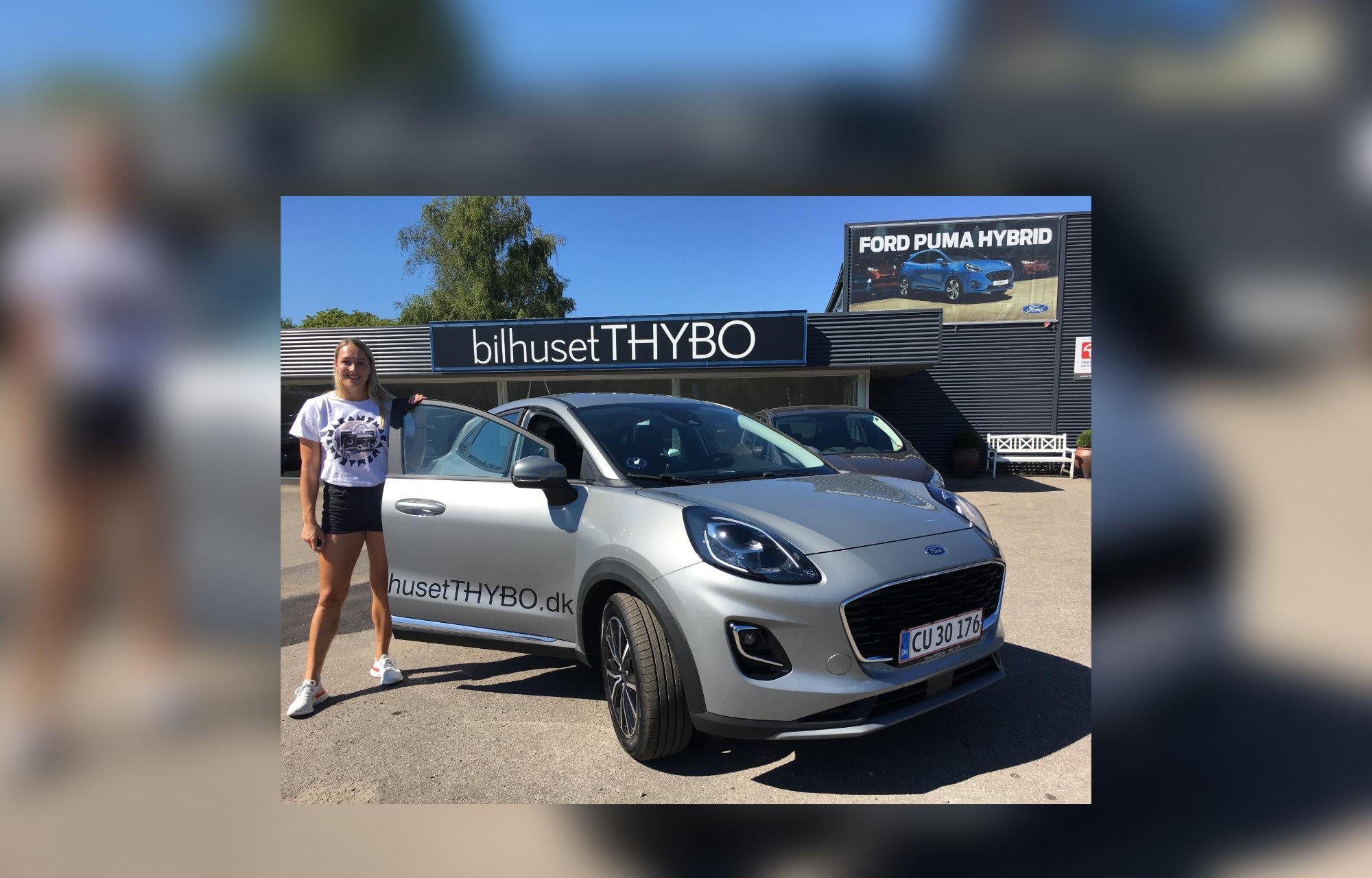 BilhusetTHYBO leaser bil til verdensmester