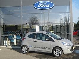 Ny Ford Ka til Beiskjær Køretekniksanlæg