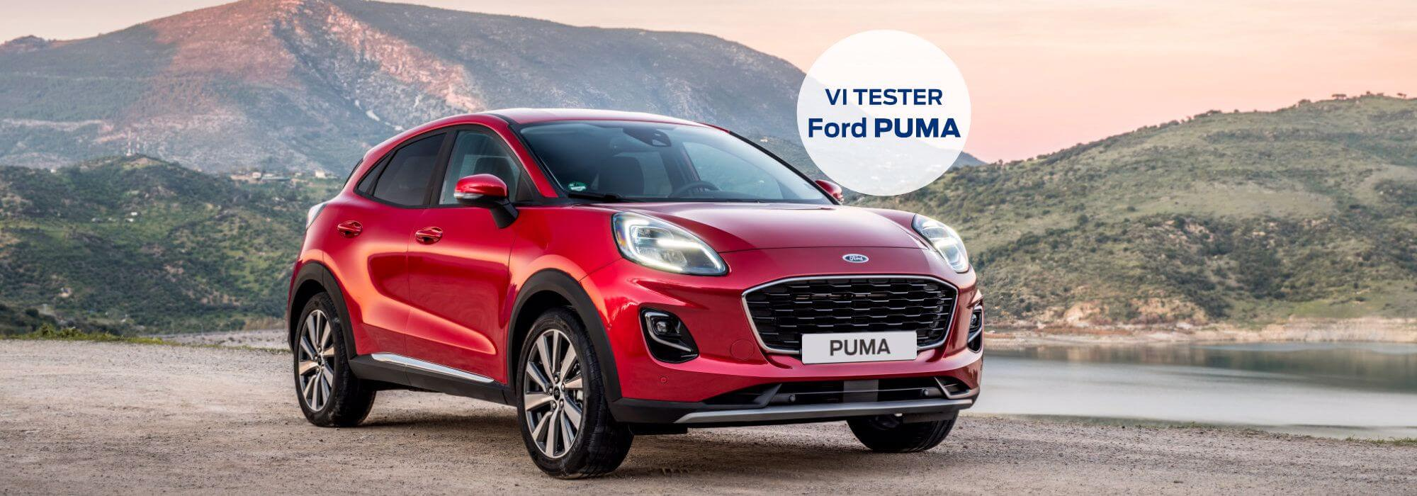 Mød den nye Ford Puma - anmeldelser