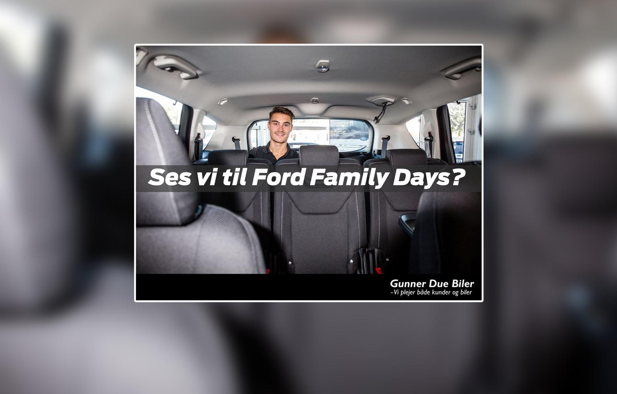 Ford Family Days hos Gunner Due
