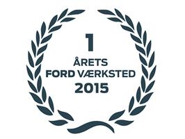 BIN2BIL KÅRET TIL ÅRETS FORD-VÆRKSTED 2015