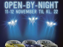 Velkommen til Open-By-Night d. 11.-12. november