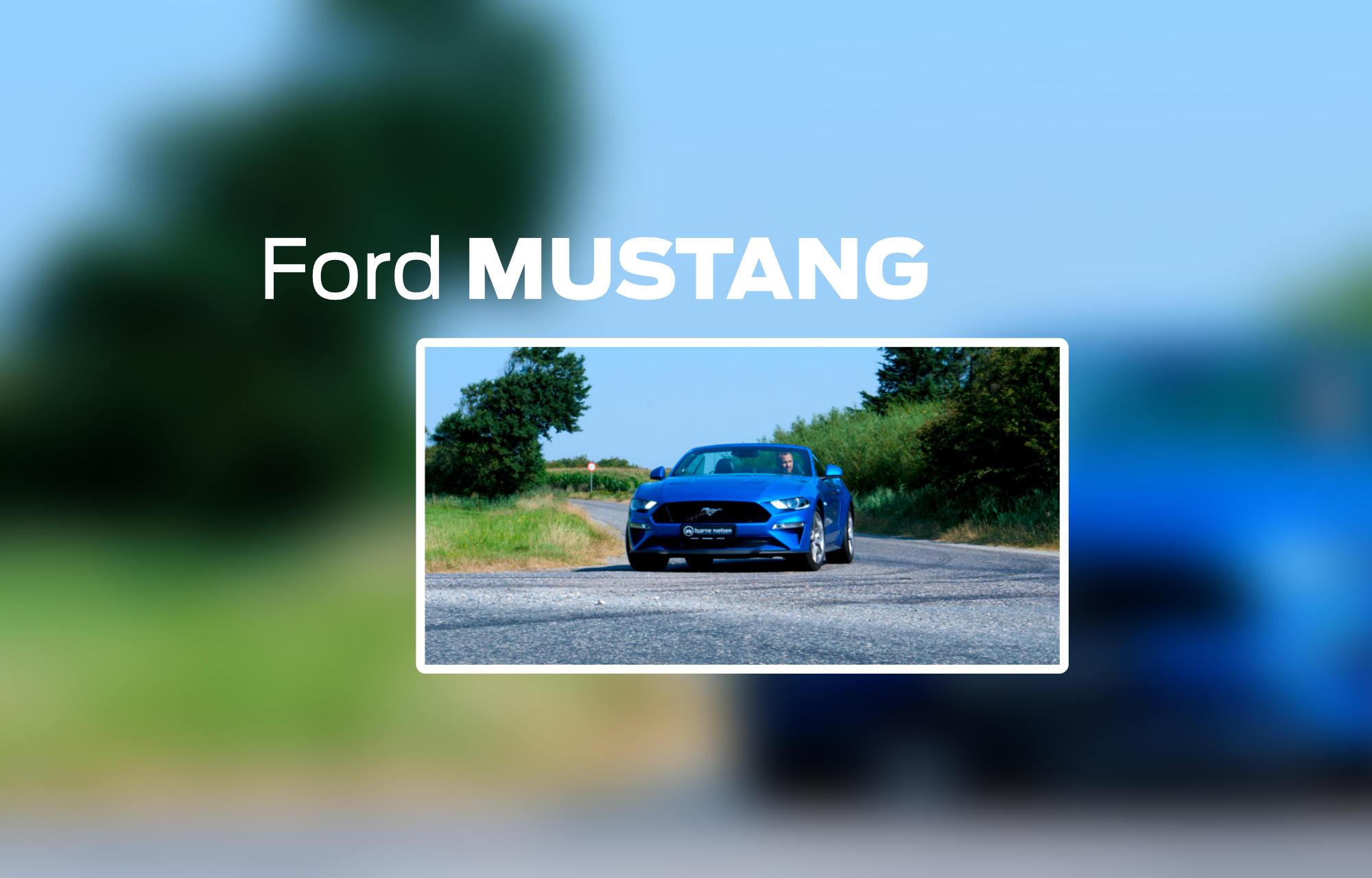 Bilguiden: Hvorfor vælge en Ford Mustang?
