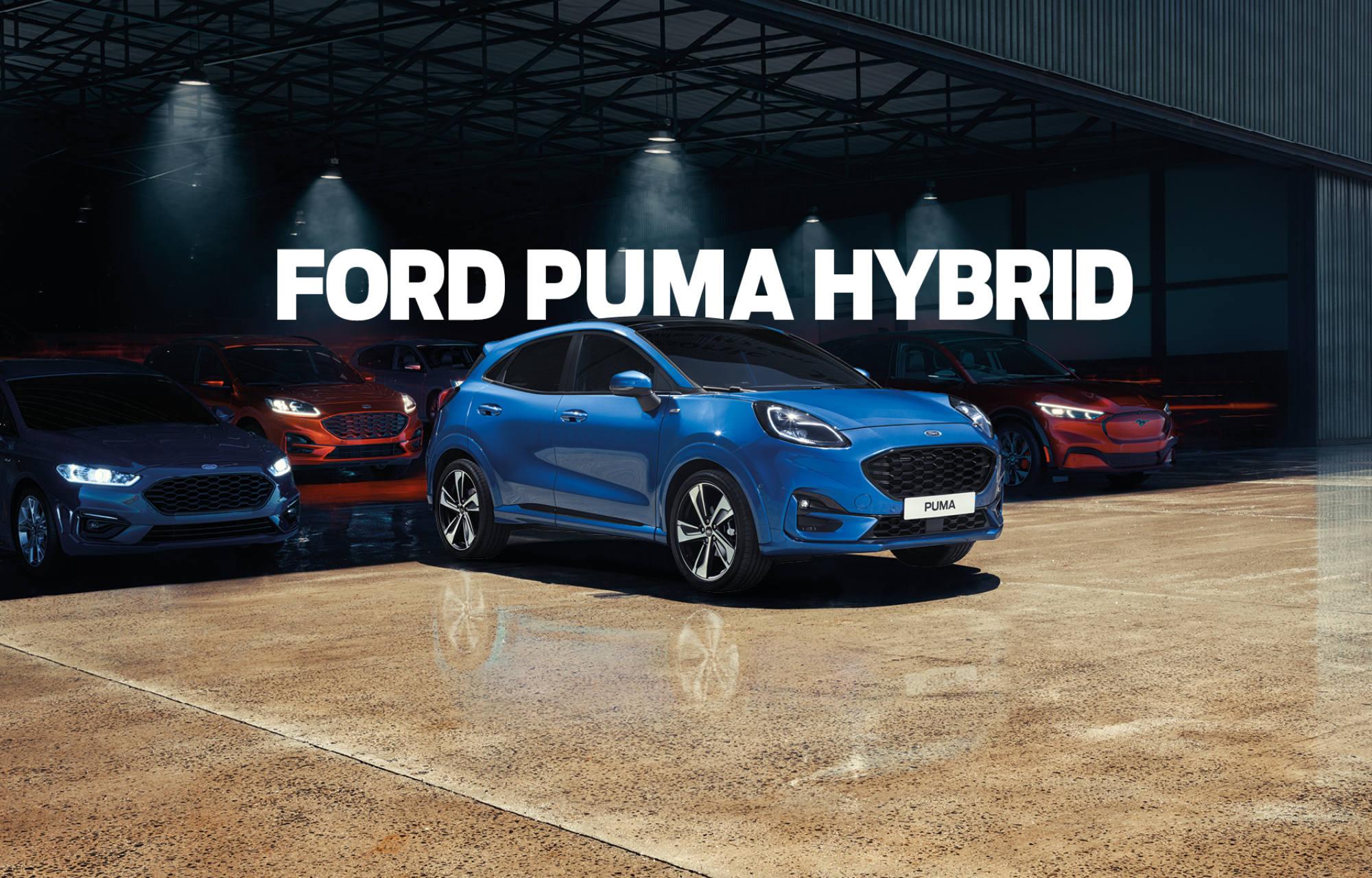 Bliv klogere på Fords hybrid biler