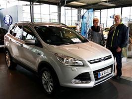 Tillykke med den nye Ford Kuga