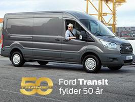Ford Transit fylder 50 år