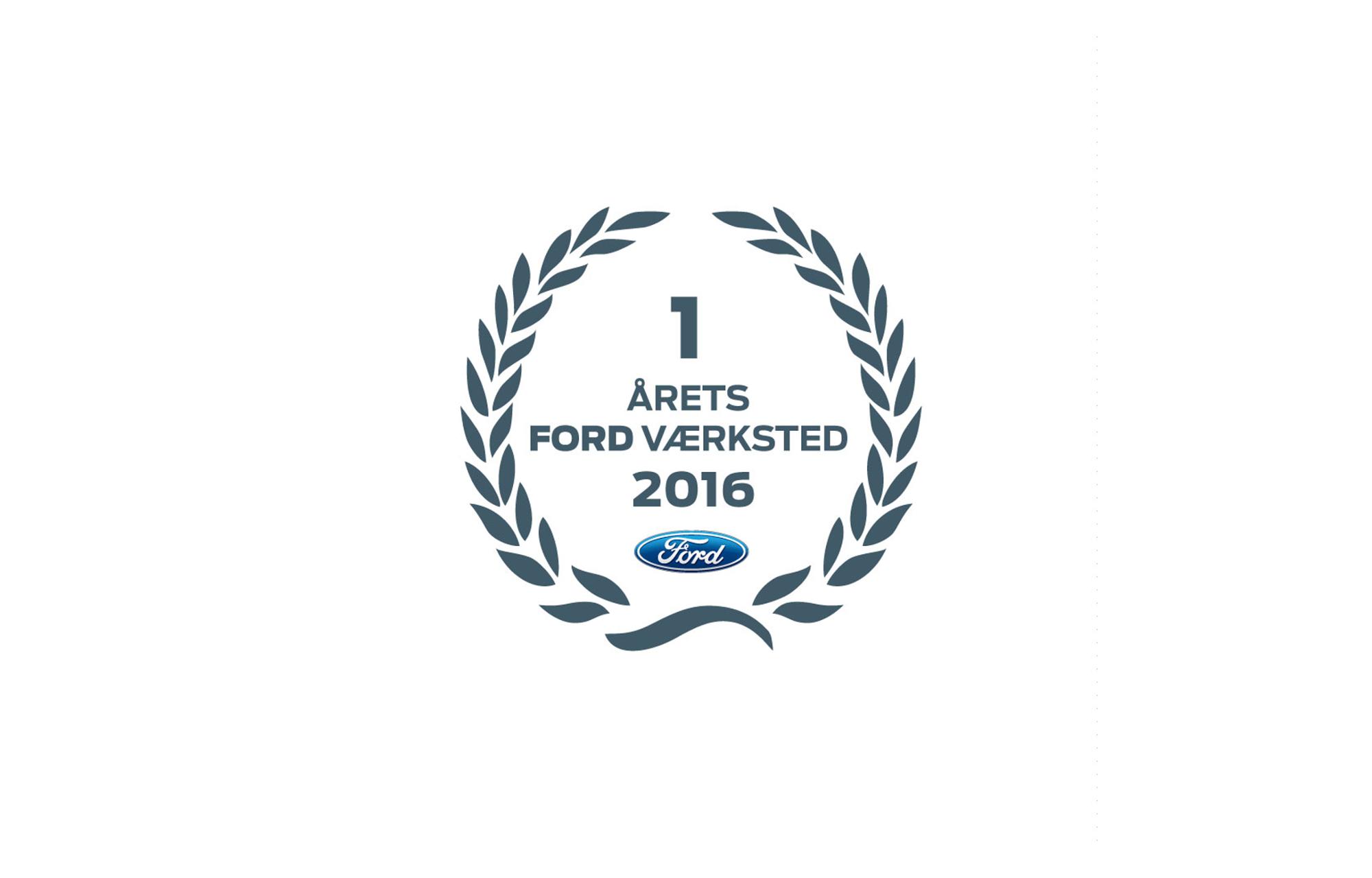 Årets Ford Værksted 2016