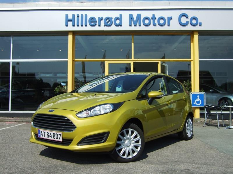 Tillykke med den nye bil Ford Fiesta Trend+