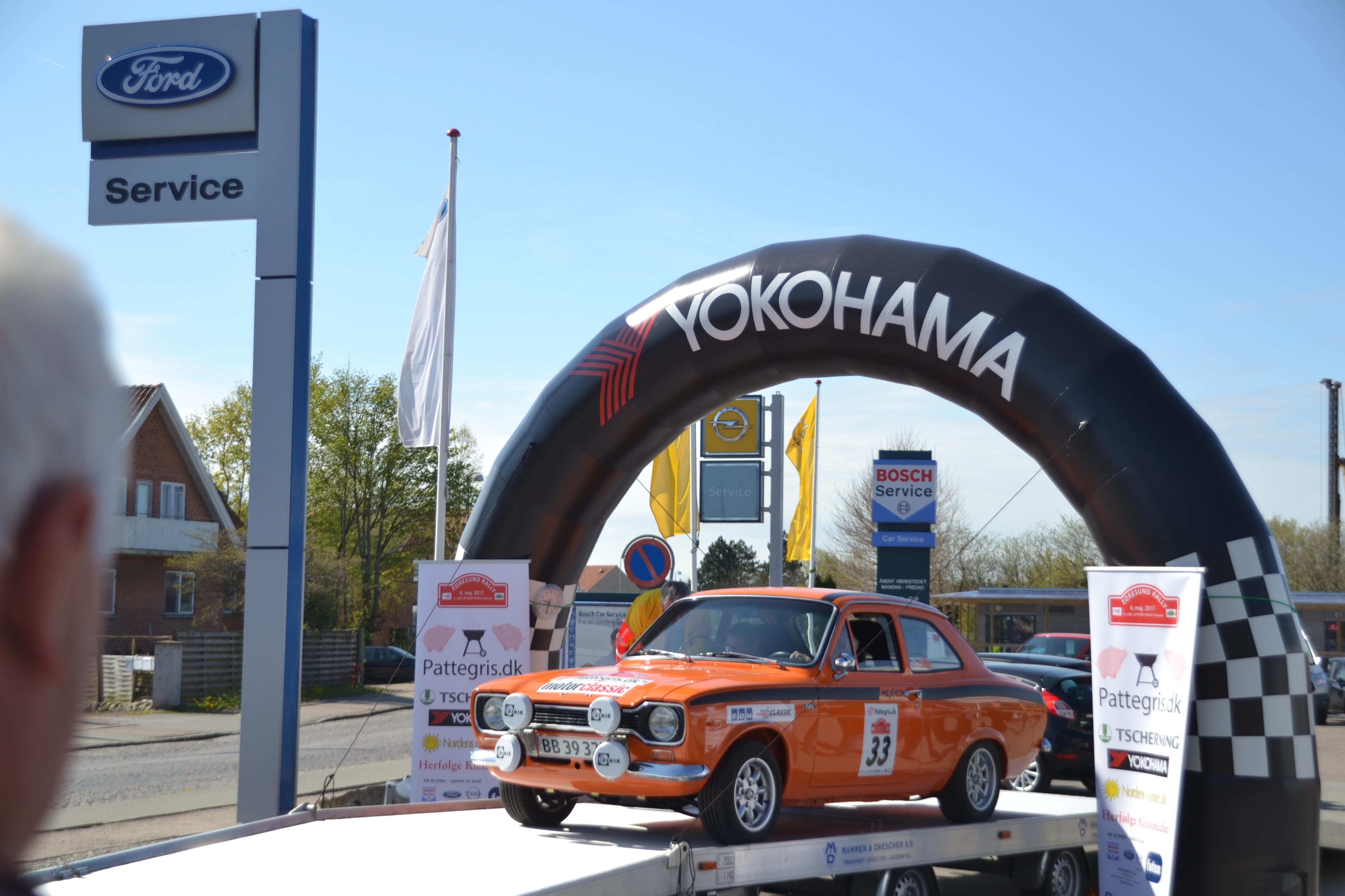 Afvikling af 7th Oresund Rally
