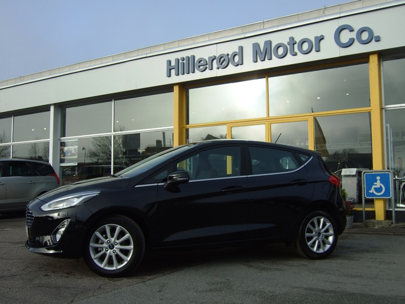 Tillykke med den nye bil Ford Fiesta Titanium