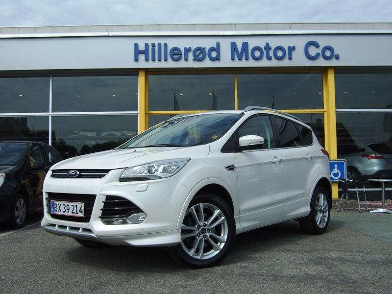 Tillykke med den nye bil Ford Kuga Titanium+