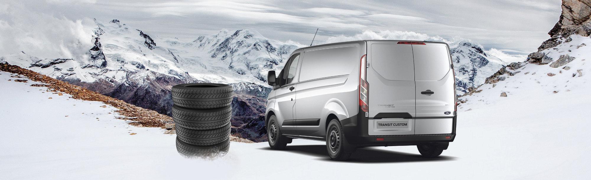 Vinterdæk til din varebil - Ford værksted i Hillerød