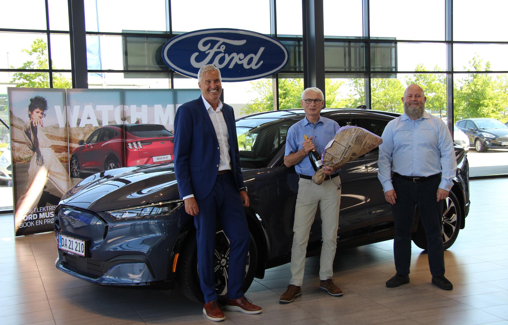 Første danske kunde i Ford Mustang Mach-E