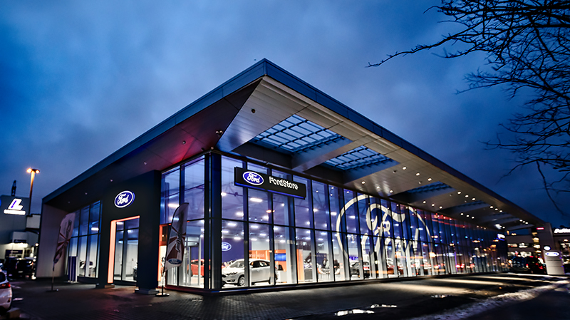 Uuden FordStore Helsingin avajaiset