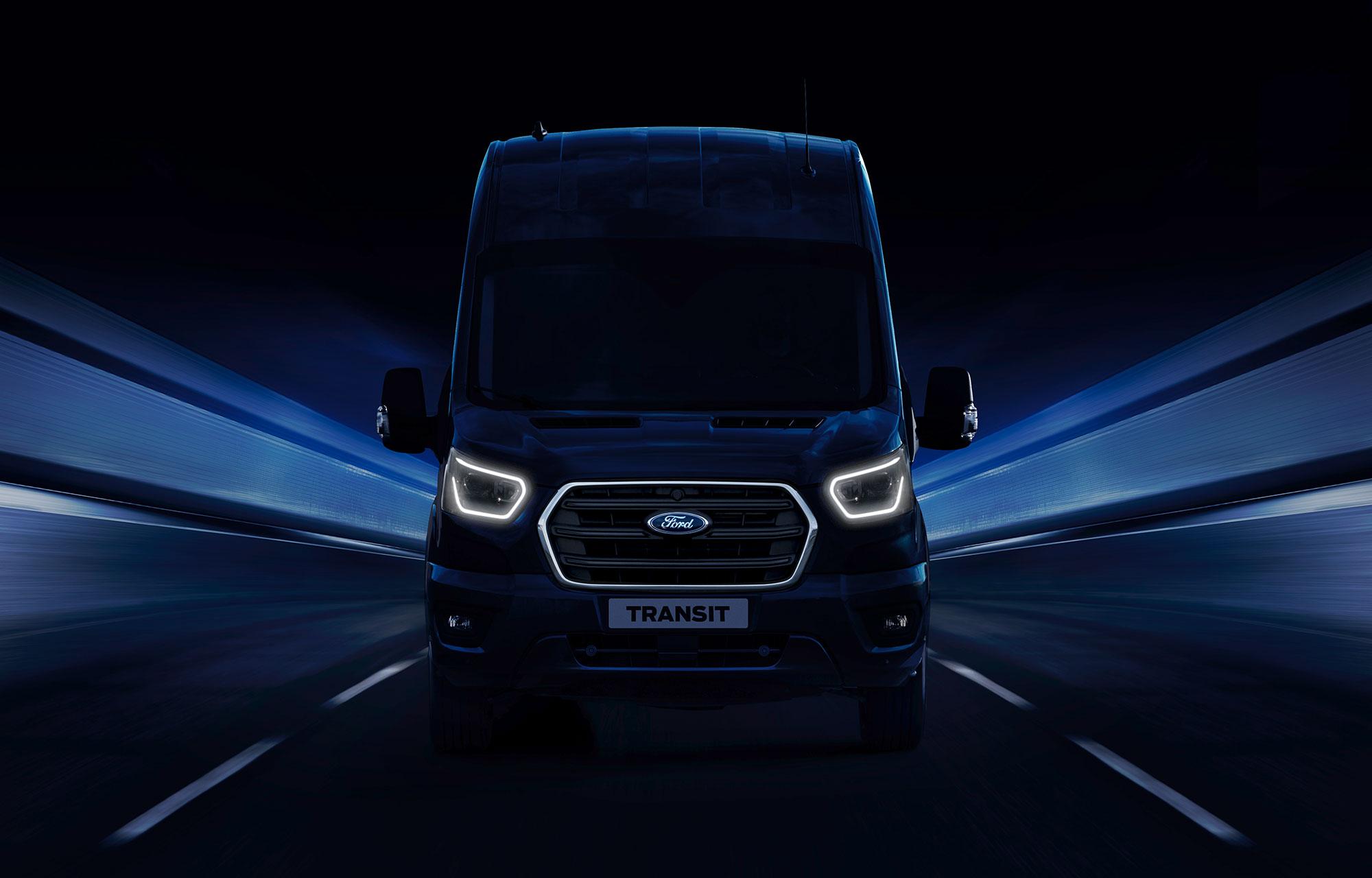 Fordin uuden sukupolven Transit-hyötyajoneuvot Hannoverin hyötyajoneuvonäyttelyssä ...