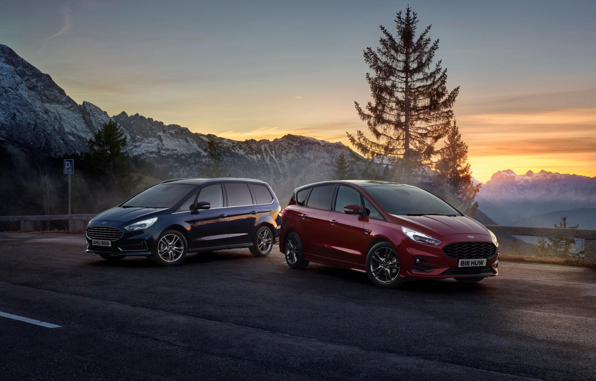 Seitsemänpaikkainen suosikki Ford S-MAX on nyt saatavana myös itselataavana hybridimallina