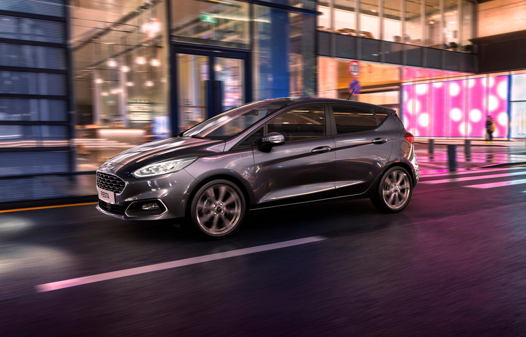Sähköistetty ja uudistettu Ford Fiesta
