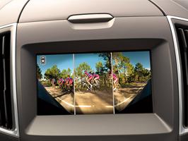 Vers une vision périphérique : Une nouvelle caméra avant 180°