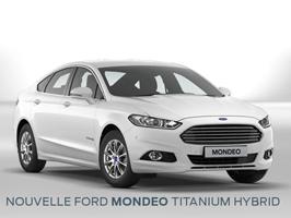 La nouvelle Mondeo Titanium Hybrid 187