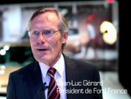 Visite du Président de Ford France à Reims