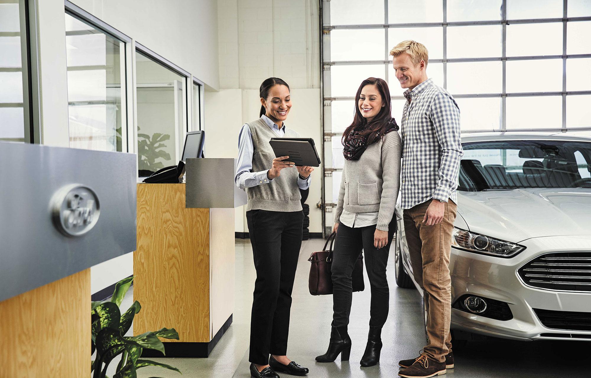 Le concessionnaire : la solution pour votre voiture!