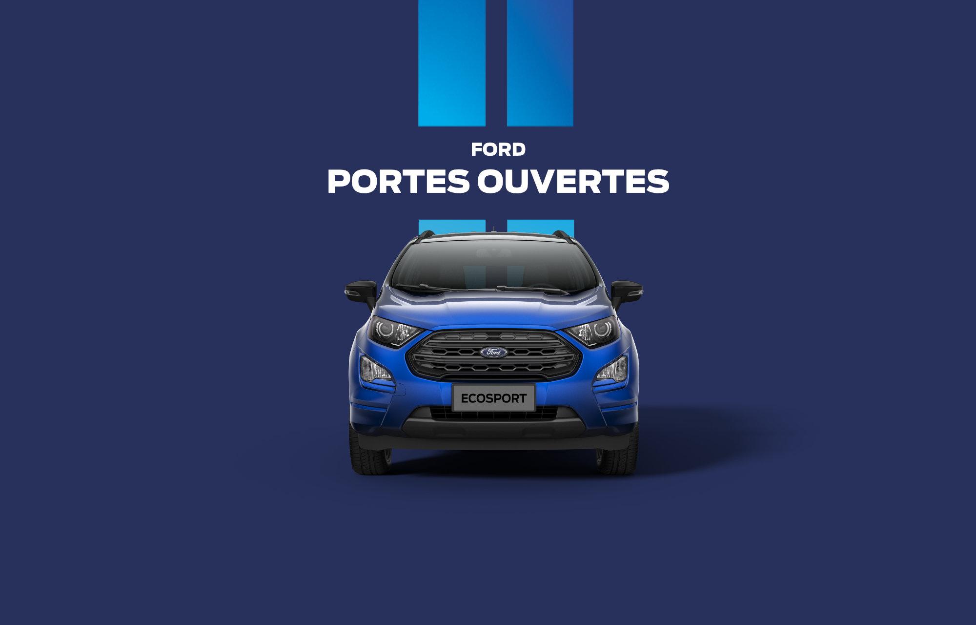 Portes Ouvertes Ford jusqu'au 19 janvier 2019.
