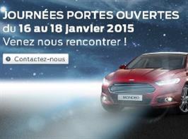 Portes Ouvertes 16, 17 & 18 Janvier 2015