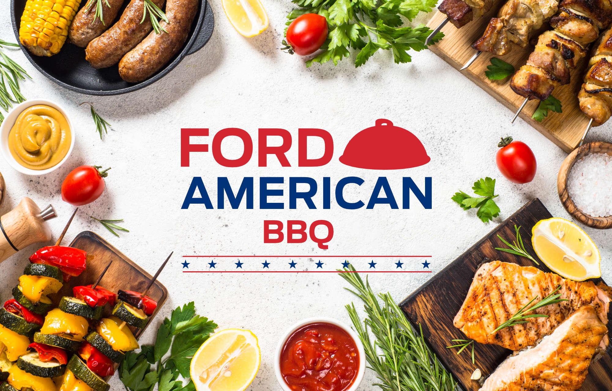 Venez au Barbecue américain de **Ford ETS Cardona** !