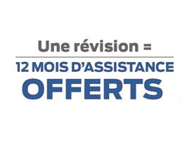 1 REVISION = 12 MOIS D'ASSISTANCE OFFERTS