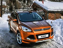 Prenez un virage avec le Ford Kuga