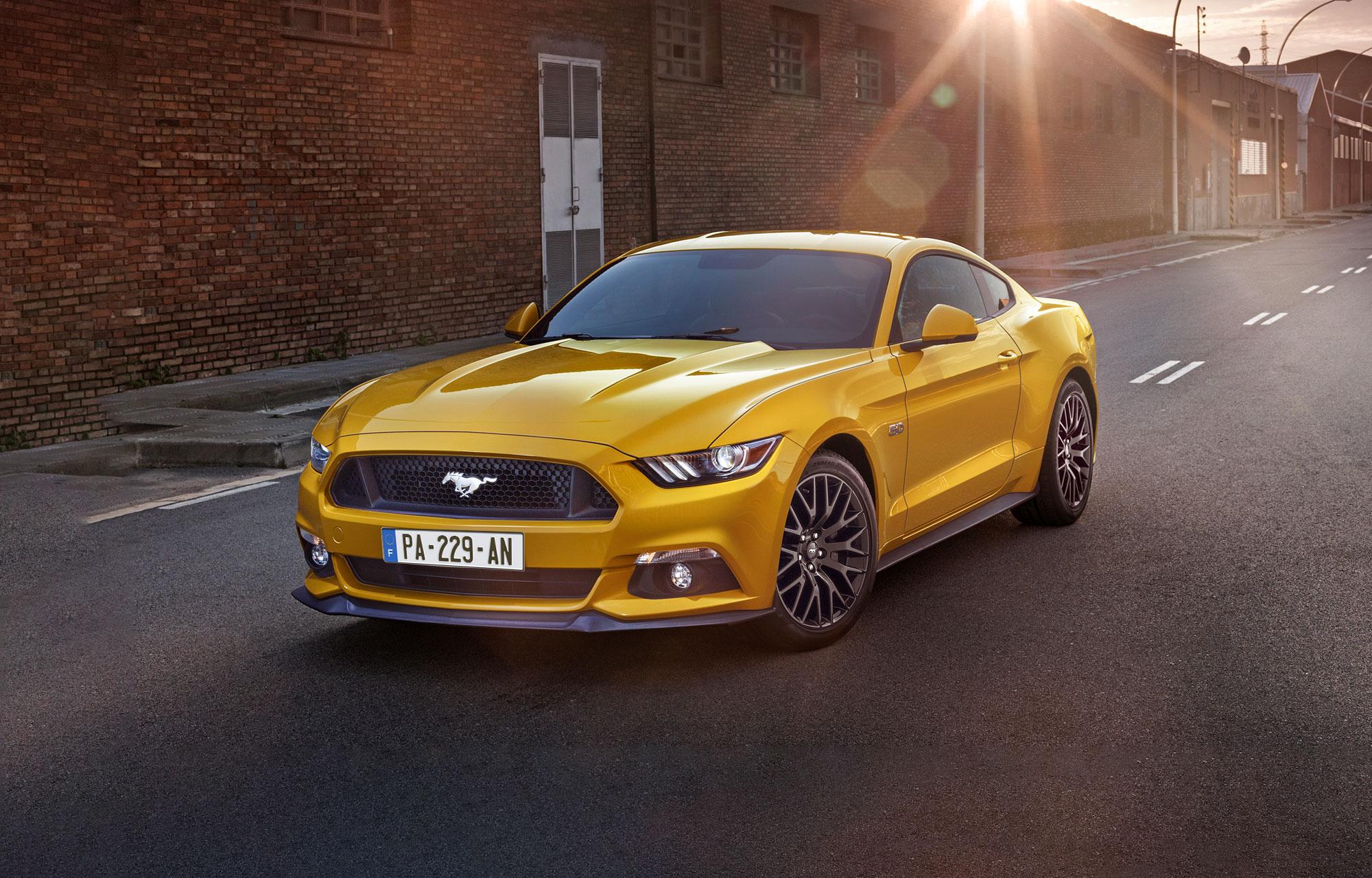 Essayez la légendaire Ford Mustang