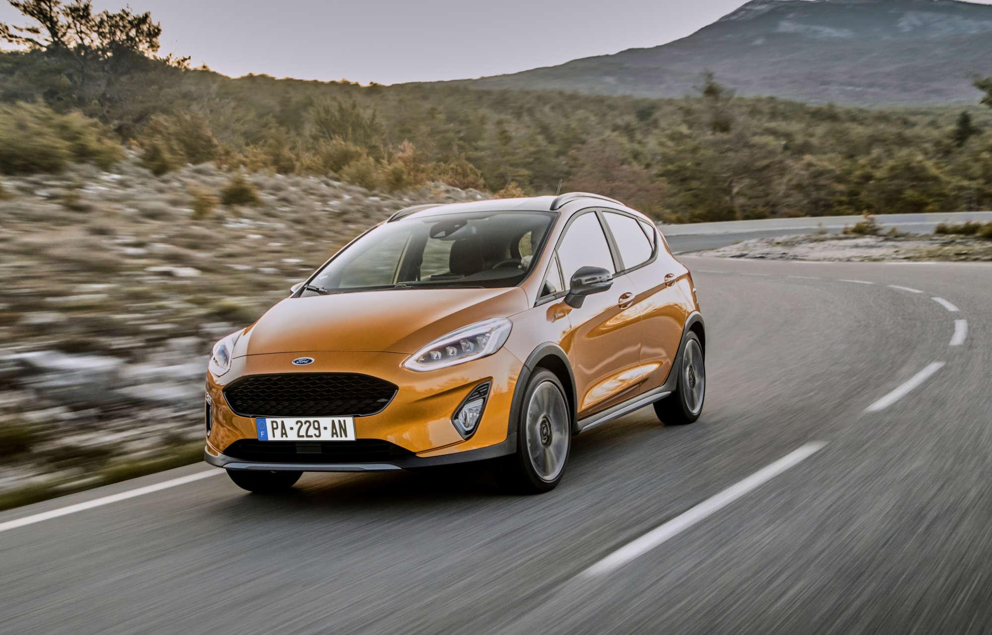 Nouvel arrivage de **Ford Fiesta Active** chez Ford Pont Automobiles !