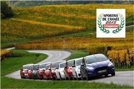 La Ford Fiesta ST élue sportive de l'année !