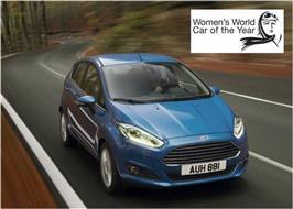 La Fiesta voiture féminine de l'année !
